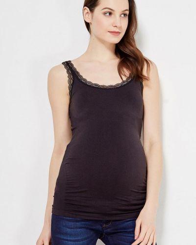 Черный топ для беременных Mama.licious