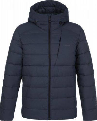 Теплая синяя короткая куртка на молнии Merrell