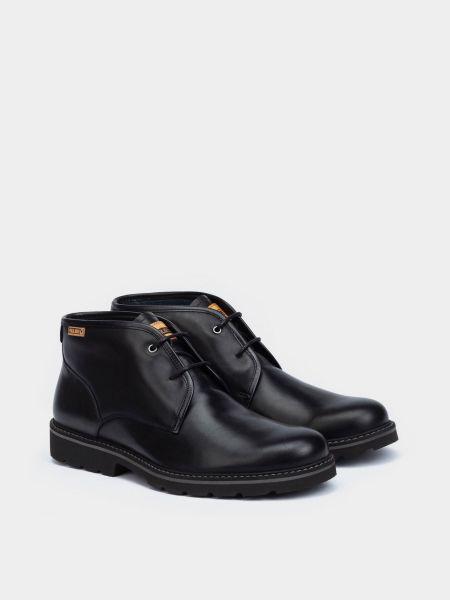 Кожаные ботинки - черные Pikolinos