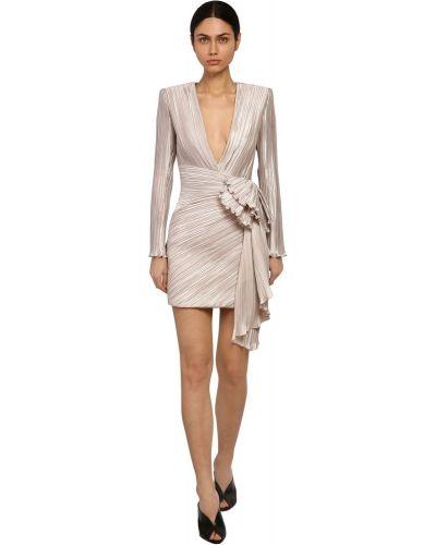 Платье с V-образным вырезом на молнии Givenchy