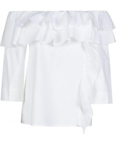 Хлопковая блузка - белая Sfizio