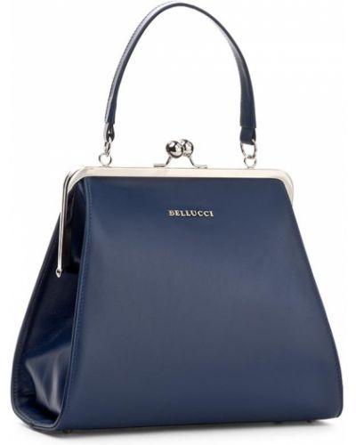 Niebieska torebka Bellucci