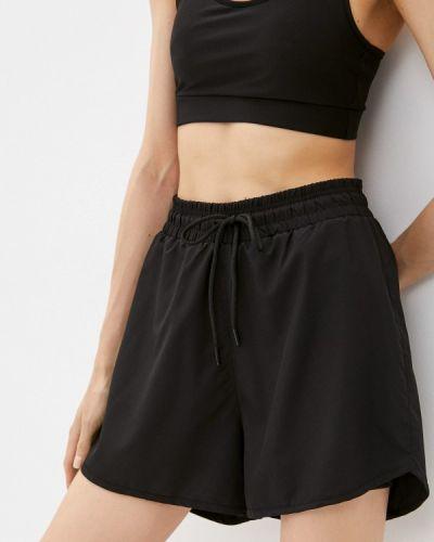 Черные спортивные шорты Defacto