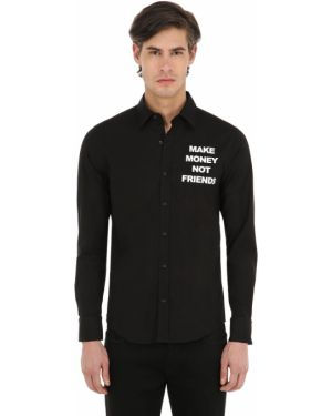 Рубашка с принтом Make Money Not Friends
