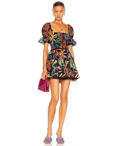 Хлопковое платье мини - черное Charo Ruiz Ibiza