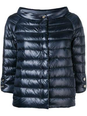 Стеганая куртка на пуговицах прямая Herno