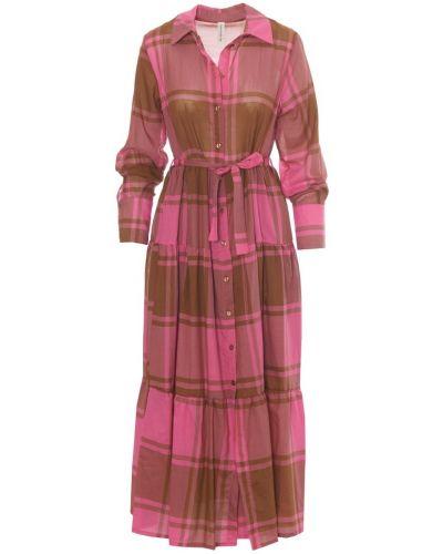 Różowa sukienka Tensione In