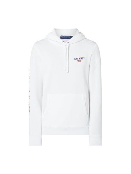 Bawełna bawełna biały bluzka z kieszeniami Polo Ralph Lauren