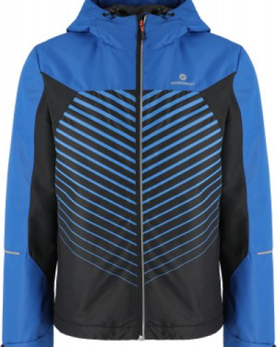 Синяя спортивная утепленная куртка для бега Nordway