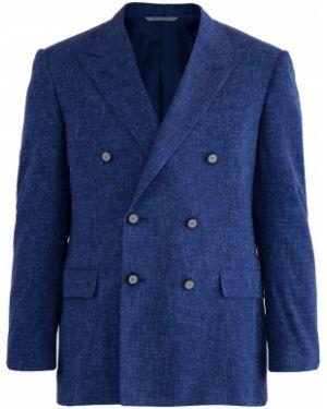 Пиджак двубортный прямой Canali