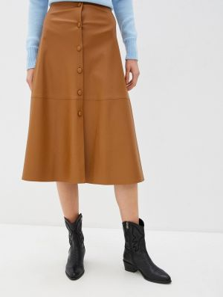 Коричневая юбка Knitman
