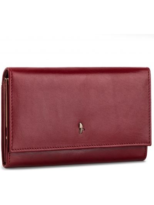 Skórzany portfel duży Puccini