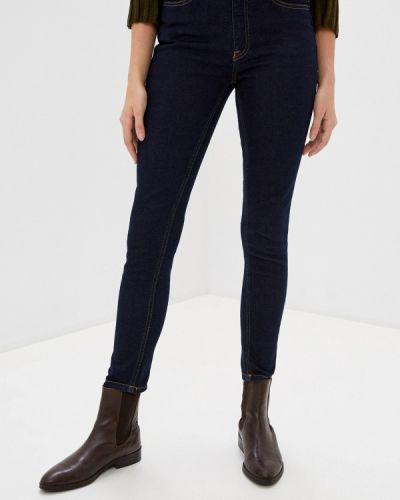 Синие джинсы-скинни узкого кроя Ichi