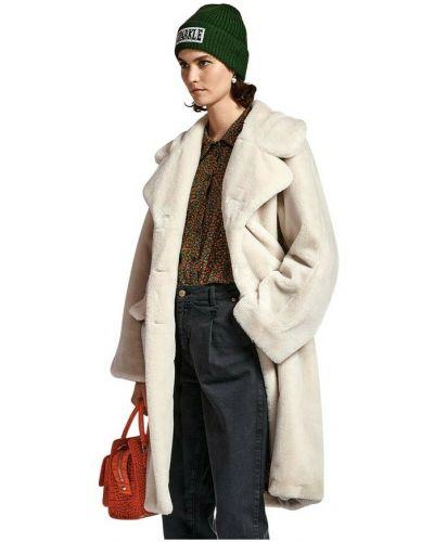 Biały płaszcz Essentiel Antwerp