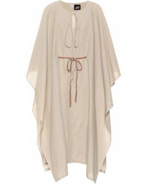 Платье макси льняное длинное Loewe
