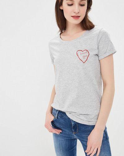 Серая футболка Ichi