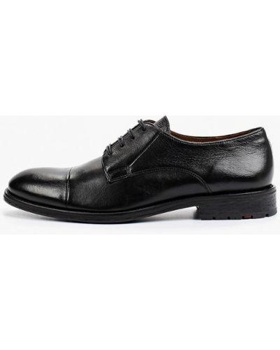 Черные туфли осенние Lloyd
