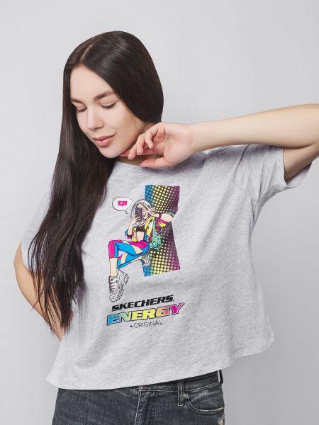 Футбольная спортивная футболка Skechers