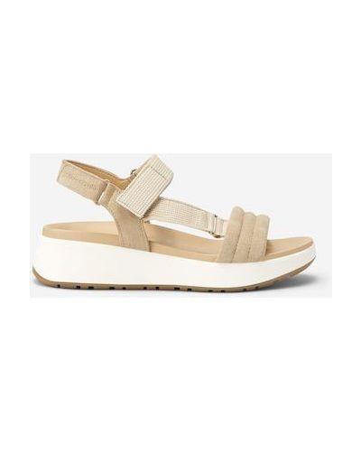 Białe sandały na platformie Marc O Polo