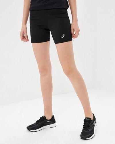 Спортивные шорты черные Asics