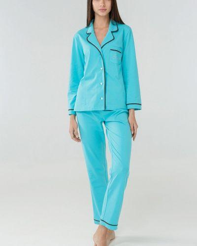 Пижама бирюзовый пижамный Ora