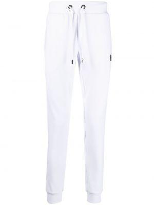 Спортивные брюки из полиэстера - белые Philipp Plein