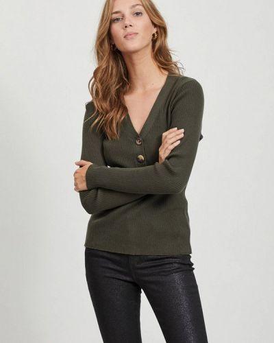 Пуловер - зеленый Vila