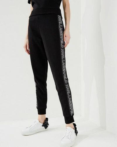 Черные спортивные брюки Karl Lagerfeld