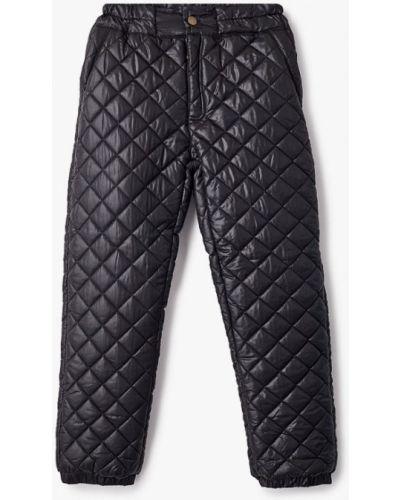 Черные теплые брюки V-baby