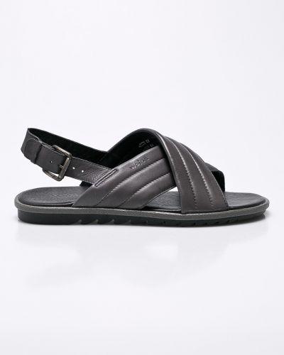 Серые сандалии Wojas