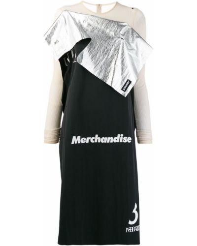 Платье с длинными рукавами с вырезом Youser