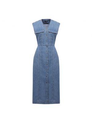 Джинсовое платье - голубое 7 For All Mankind