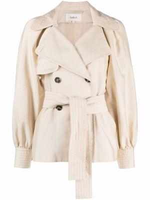 Белая длинная куртка Ba&sh