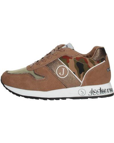 Brązowe sneakersy Jeckerson
