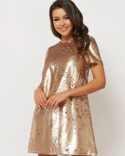 Вечернее платье осеннее золотой Verna Sebe