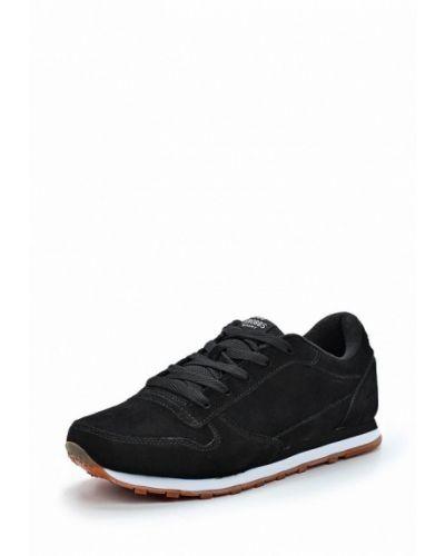 Черные замшевые кроссовки Strobbs
