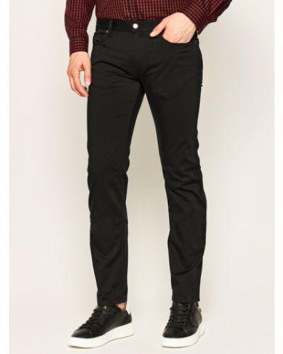 Mom jeans - czarne Hugo