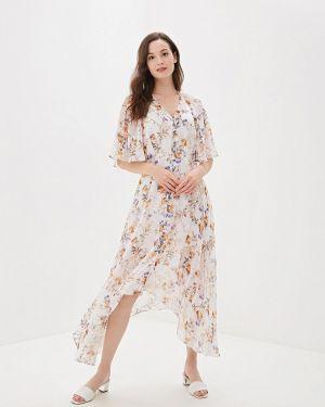 Платье прямое бежевое Ruxara