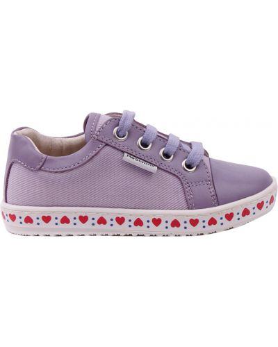 Фиолетовые кеды Moschino