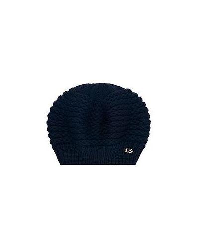 Синяя шапка Luisa Spagnoli