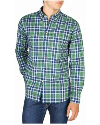 Zielona koszula Hackett