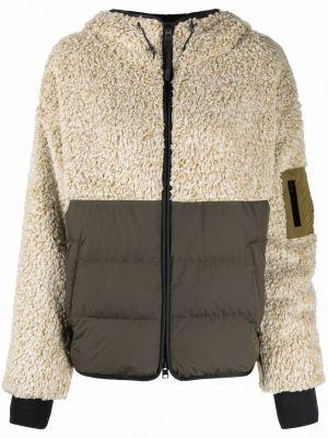 Стеганая куртка - коричневая Woolrich