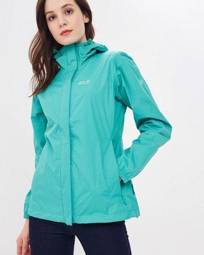 Зеленая куртка Jack Wolfskin
