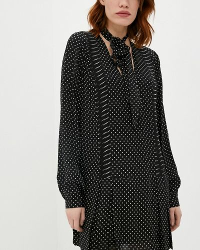 Повседневное черное платье Trussardi