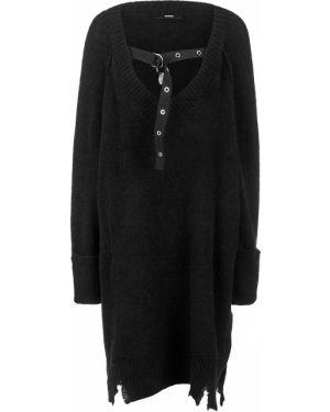 Платье с декольте платье-свитер Diesel