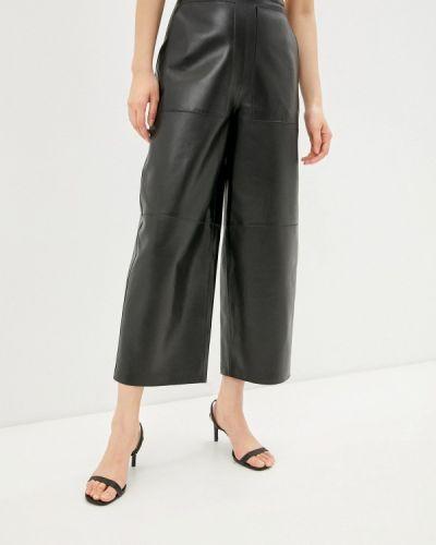Кожаные черные брюки Grafinia
