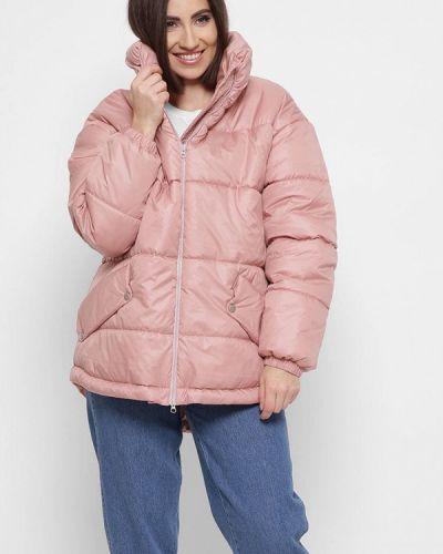 Розовая демисезонная куртка Carica&x-woyz
