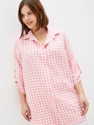 Розовая зимняя рубашка Prewoman