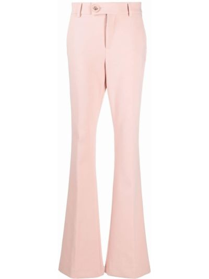 Брюки с карманами - розовые Blumarine