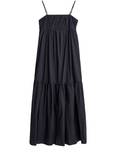 Czarna sukienka na lato By Malene Birger